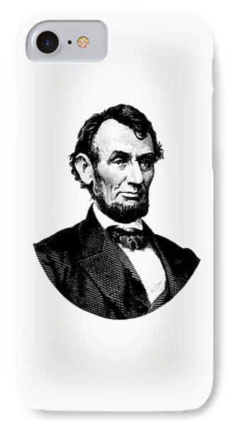 President Abraham Lincoln Graphic IPhone Case by War Is Hell Store