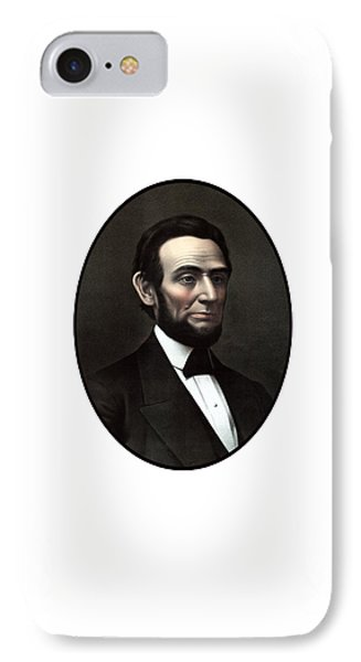 President Abraham Lincoln  Phone Case by War Is Hell Store