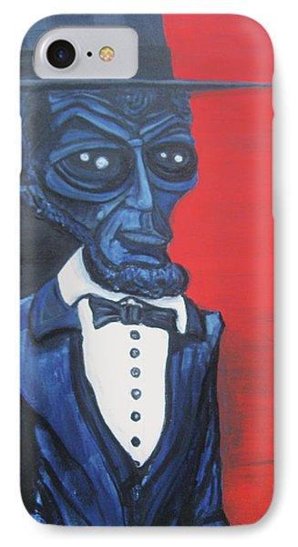 President Alienham Lincoln IPhone Case