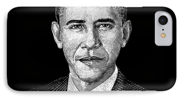 President Barack Obama Graphic IPhone Case by War Is Hell Store