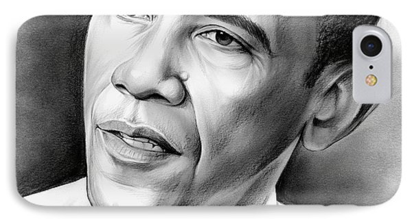 President Barack Obama IPhone 7 Case by Greg Joens
