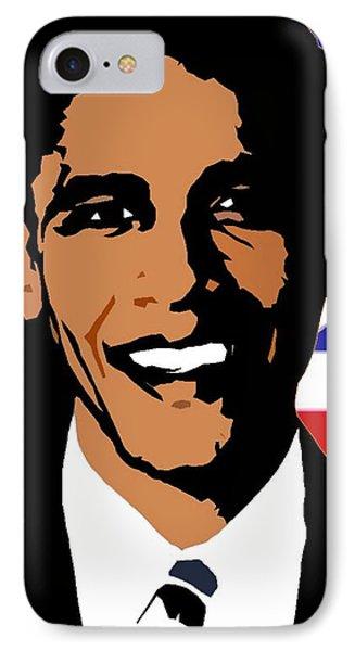 President Barack Obama IPhone Case by Otis Porritt