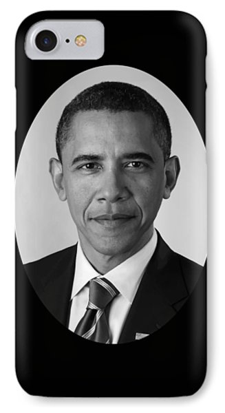 President Barack Obama IPhone 7 Case by War Is Hell Store