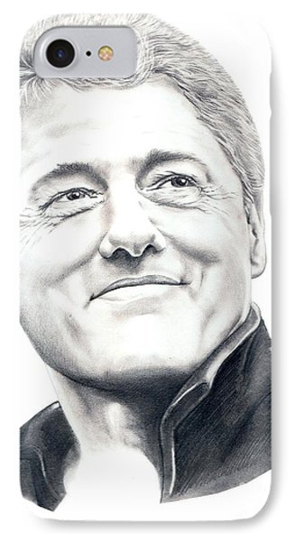 President Bill Clinton Phone Case by Murphy Elliott