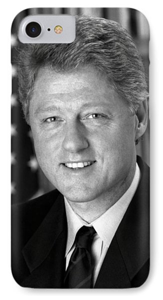 President Bill Clinton IPhone Case