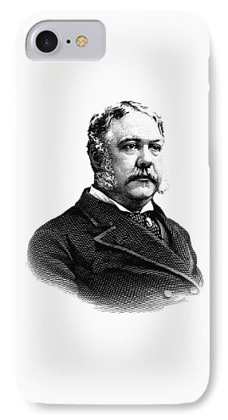 President Chester Arthur Graphic IPhone Case