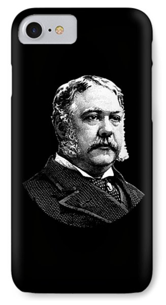President Chester Arthur IPhone Case by War Is Hell Store