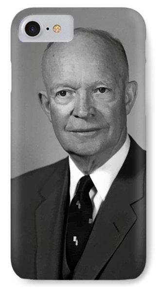 President Eisenhower IPhone Case