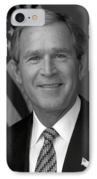 President George W. Bush IPhone 7 Case by War Is Hell Store