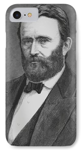 President Grant IPhone Case by War Is Hell Store