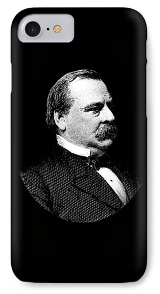 President Grover Cleveland Graphic IPhone Case by War Is Hell Store