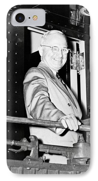 President Harry Truman Phone Case by War Is Hell Store