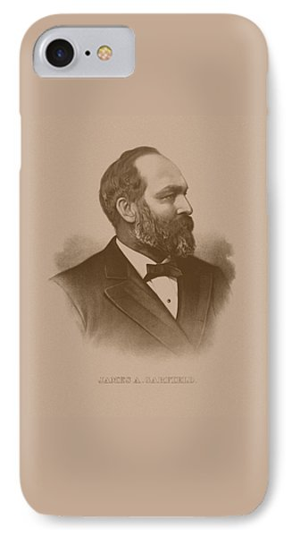 President James Garfield IPhone Case by War Is Hell Store