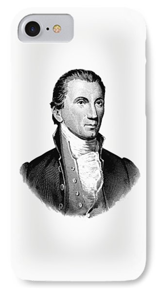 President James Monroe Graphic IPhone Case by War Is Hell Store