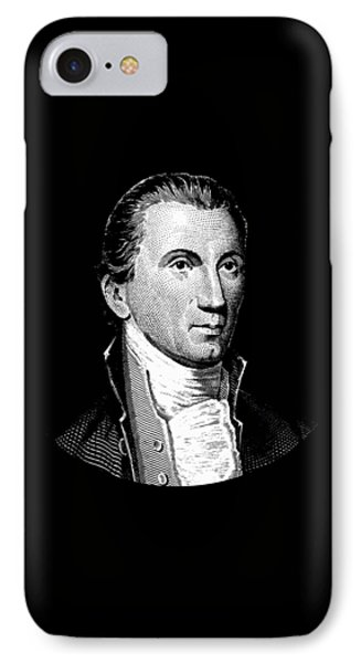 President James Monroe  IPhone Case by War Is Hell Store