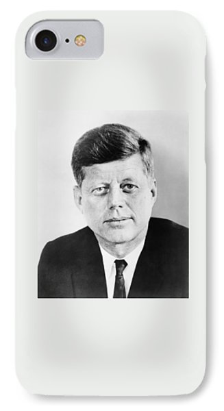 President John F. Kennedy Phone Case by War Is Hell Store