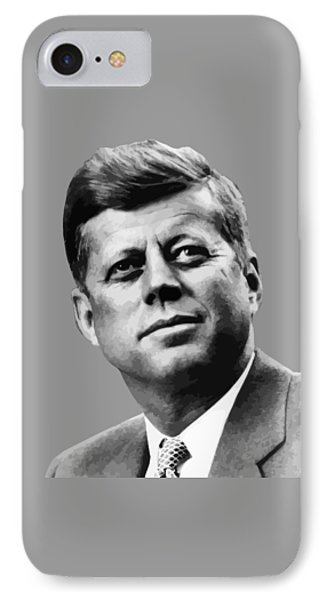 President Kennedy Phone Case by War Is Hell Store