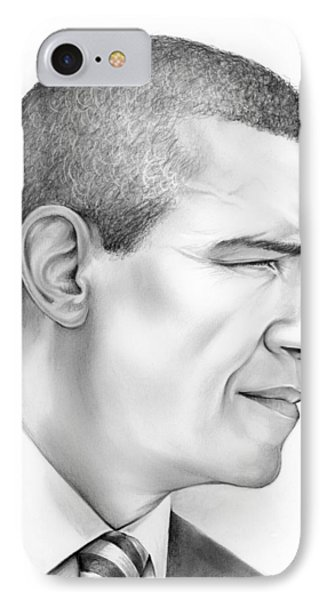 President Obama IPhone Case by Greg Joens