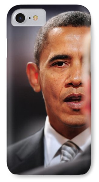 President Obama II IPhone Case by Rafa Rivas