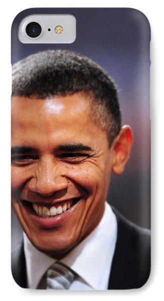 President Obama IIi IPhone Case by Rafa Rivas