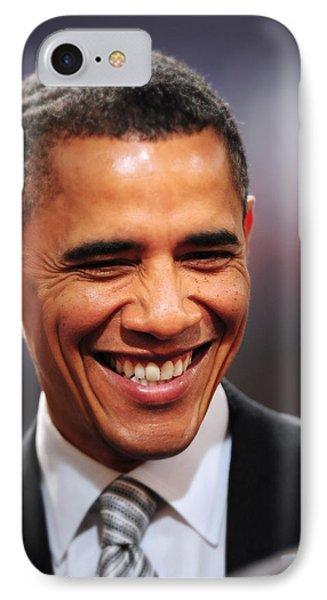President Obama Iv IPhone Case