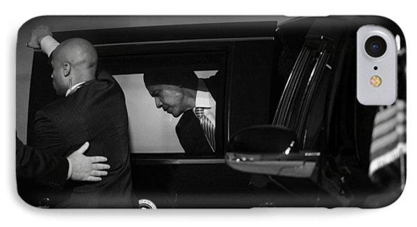 President Obama Ix IPhone Case by Rafa Rivas
