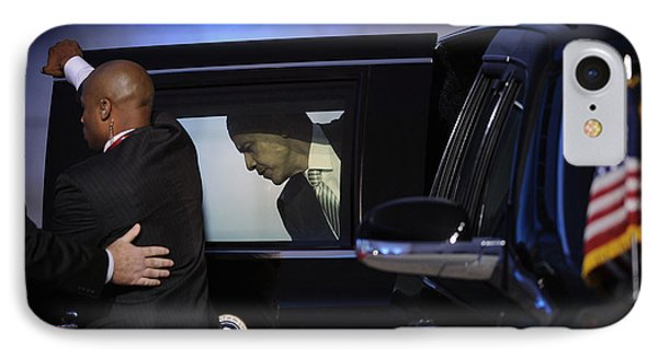 President Obama Vi IPhone Case by Rafa Rivas
