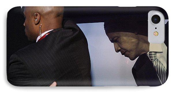 President Obama Vii IPhone Case by Rafa Rivas