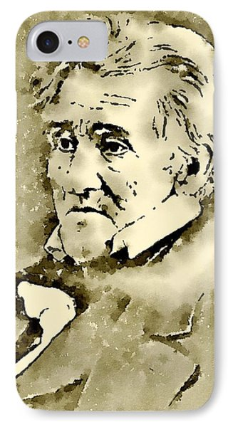 President Of The United States Of America Andrew Jackson IPhone Case