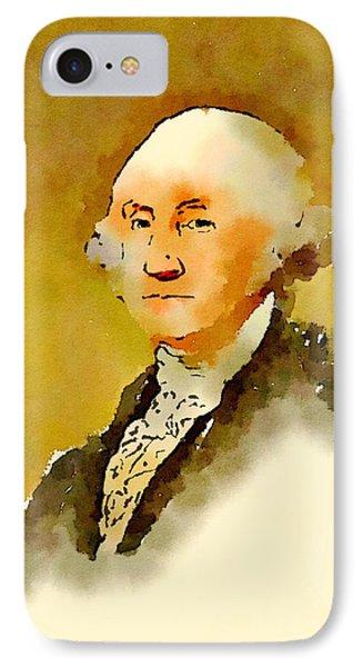 President Of The United States Of America George Washington IPhone Case