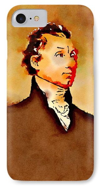 President Of The United States Of America James Monroe IPhone Case