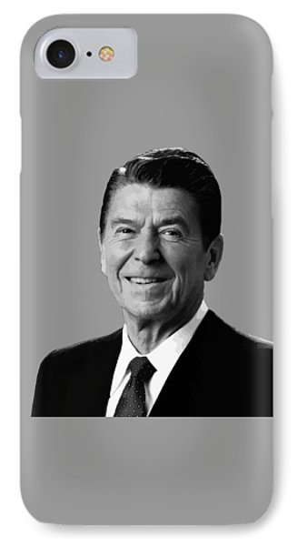 President Reagan Phone Case by War Is Hell Store