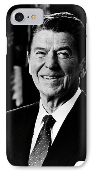 President Ronald Reagan IPhone 7 Case by International  Images
