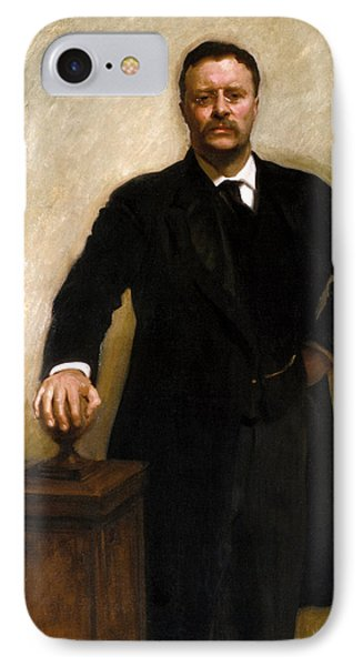 President Theodore Roosevelt Painting IPhone Case
