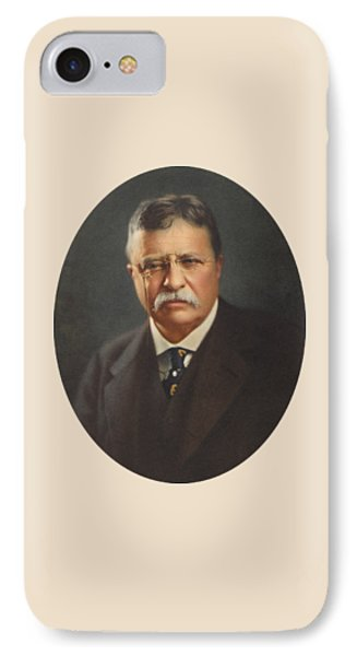 President Theodore Roosevelt - Rough Rider, Governor And President IPhone Case by War Is Hell Store