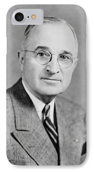 President Truman Phone Case by War Is Hell Store