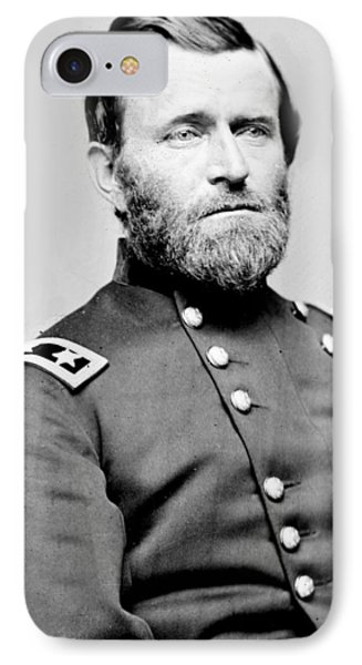 President Ulysses S Grant In Uniform Phone Case by International  Images