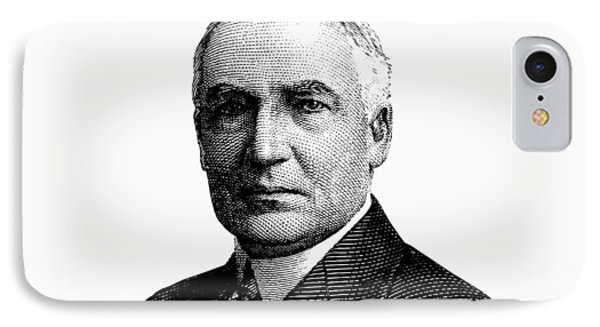 President Warren G. Harding Graphic IPhone Case by War Is Hell Store