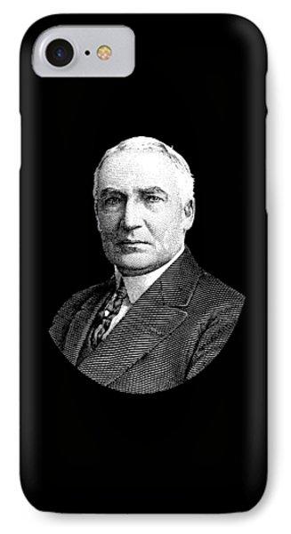 President Warren G. Harding IPhone Case by War Is Hell Store