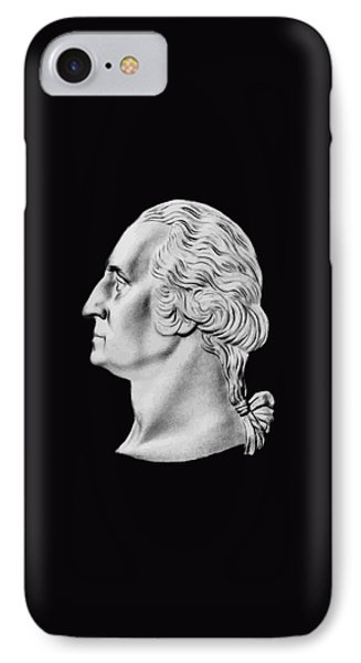President Washington Bust  IPhone Case by War Is Hell Store