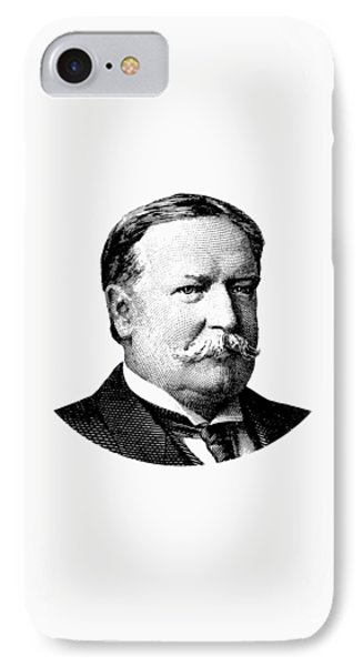 President William Howard Taft Graphic IPhone Case by War Is Hell Store