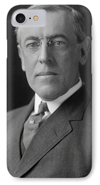 President Woodrow Wilson IPhone Case by War Is Hell Store