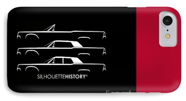 Presidential Limousine Silhouettehistory IPhone Case