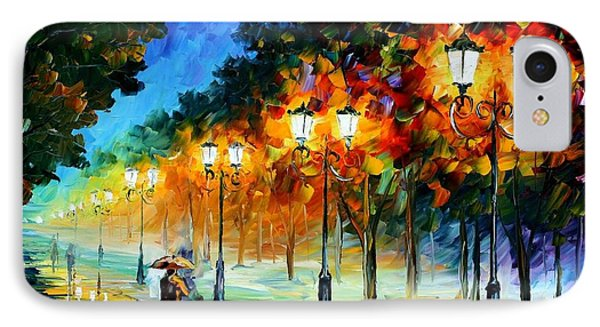 Prespective Of The Night Phone Case by Leonid Afremov