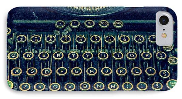 Press Any Key IPhone Case by Emily Kay