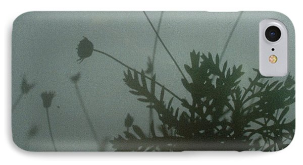 Pressed Daisy Bush Green IPhone Case by Stan Magnan