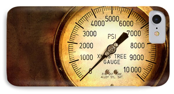 Pressure Gauge IPhone Case by Charuhas Images