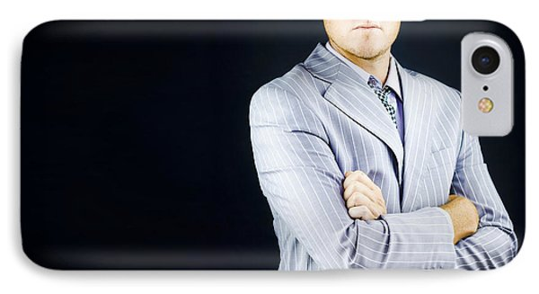 Prestigious Influential Young Business Man IPhone Case by Jorgo Photography - Wall Art Gallery