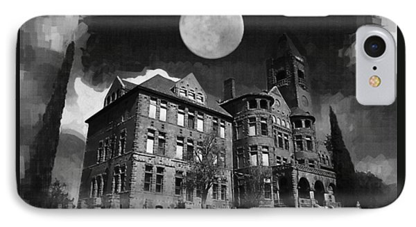 Preston Castle IPhone Case by Holly Ethan