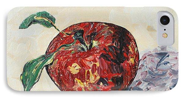 Pretty Apple Phone Case by Reina Resto